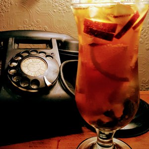 The Black Telephone and a Pims (I think)
